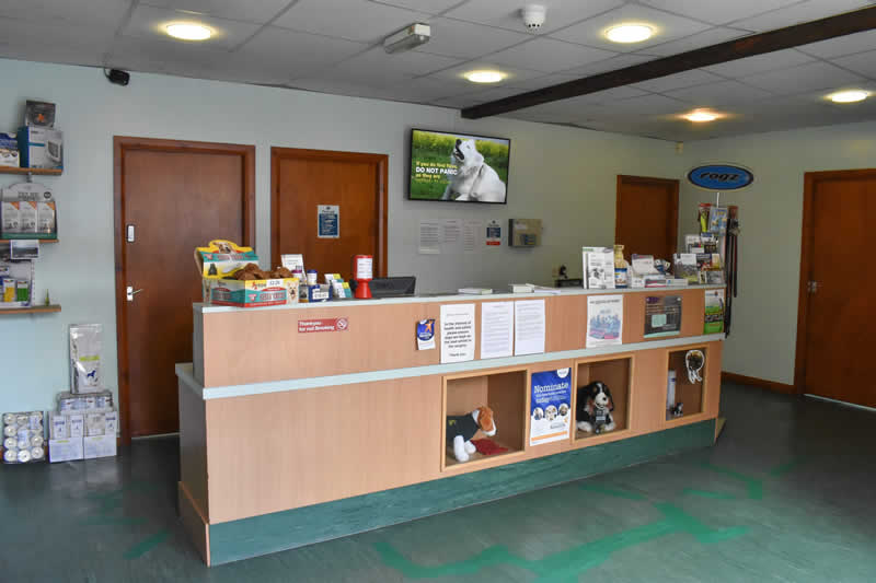 Holme Vets Reception
