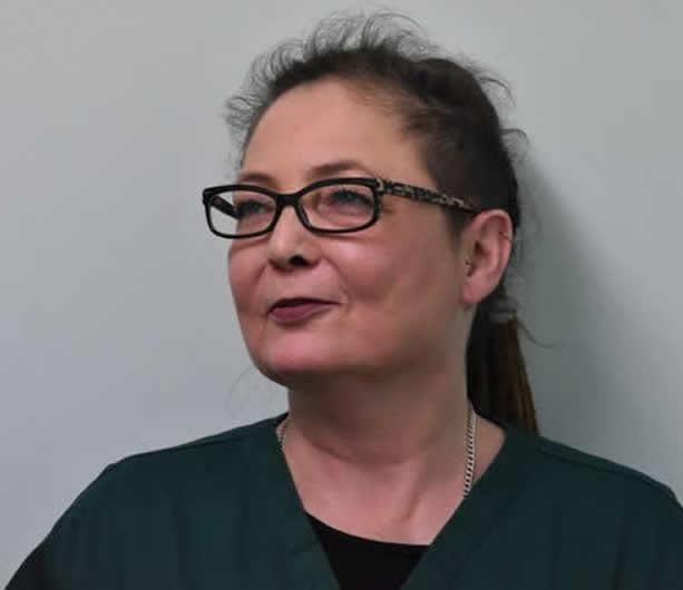 Lesley Davies- Receptionist